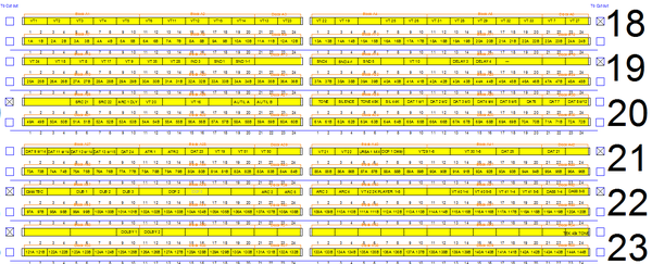 Example audio Jackfield labels